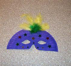 Easy Paper Plate Mask--we could make super hero masks