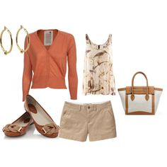 A fashion look from February 2012 featuring Friendly Hunting cardigans, H&M tops and Old Navy shorts. Browse and shop related looks.