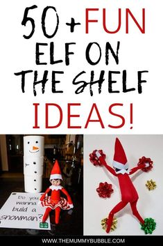 Looking for Elf on the Shelf ideas for December? Here are 51 amazing ideas for what to do with your Elf every day! Entertain your kids with these fantastic and creative ideas for your Elf on the Shelf Christmas On A Budget, Family Christmas, Holiday Fun, Christmas Diy, Festive, Merry Christmas, Pinterest Christmas Crafts, Shelf Inspiration, Paw Patrol Toys