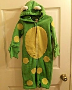Dragon Costume Blue and Green Kids Sully Hooded Wings Cape 5 6 7 8 10 12 up