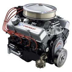 Small Block Chevy Engine Identification | ... .com - 2008 350/290 HP SMALL-BLOCK CHEVY CRATE ENGINE