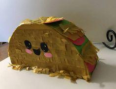 Mini Shopkins-estilo taco piñata