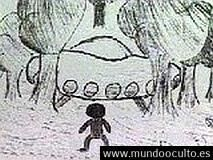 62 niños escolares ven el aterrizaje de un OVNI y su ocupantes en Zimbabue África