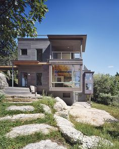 Ledge House / Theodore + Theodore Architects