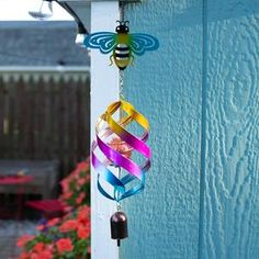 Vintage Edi-Sol Solar Light Bulb (Set of 2) - EchoValley.com Solar Light Bulb, Solar Lights, Garden Poles, Patio Umbrellas, Colorful Drawings, Hand Blown Glass, Don't Worry, Wind Chimes, No Worries