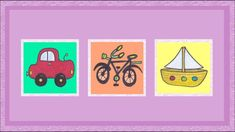 Deutsch lernen: Fahrzeuge - ein Spiel (jeu de Kim/ what's missing game)