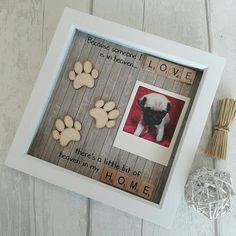 Pet memorial Frame, Dog rememberence, Dog Frame, Doggy Decor, Doggy Gifts, Gifts For Dog Lovers, Mans best Friend.