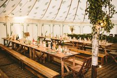 Holly and Simon envisioned an earthy, rustic celebration utilizing elements they acquired themselves. Their organic farm wedding in the English Tipi Wedding, Camp Wedding, Wedding Reception Decorations, Green Wedding, Wedding Ideas, Pantone Greenery, Wedding Mood Board, Festival Wedding, Organic Farming