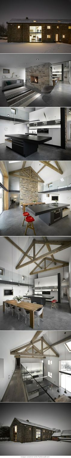 Cat Hill Barn by Snook Architects - created via http://pinthemall.net