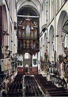 Orgel in der Marienkirche in #Lübeck