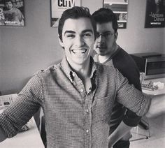 Dave Franco & Chris Mintz-Plasse. ♡ From 21 Jump Street and Superbad, respectively