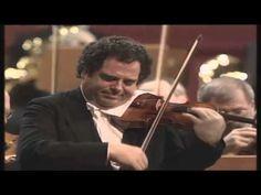 Itzhak Perlman - Beethoven Violin Concerto - Daniel Barenboim - YouTube