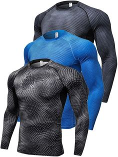 Buy Compression Thermal Baselayer Coldgeat - Black + Black point + Blue - and shop more latest Men's Active Tees all over the world. Tactical Wear, Tactical Clothing, Gym Gear For Men, Gym Men, Mens Clothing Sale, Men's Clothing, Cut Tee Shirts, Leggings Outfit Fall, Gym Outfit Men