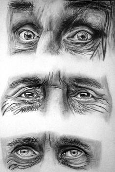 Old eyes by lihnida.deviantart.com on @deviantART