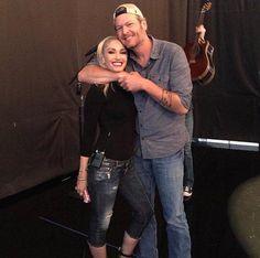 Blake & Gwen YASSSSS POWER COUPLE ON DA VOICE AGAIN YAY!