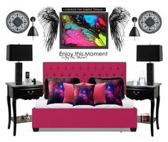 """""""Enjoy this Moment; Enjoy this Moment ..."""" by bcurryrice on Polyvore featuring Americanflat, Bestlite, Jonathan Adler, Fogarty, Fresh, Luigi Bormioli, Cyan Design and DutchCrafters"""