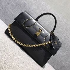 Louis Vuitton Pochette City Steamer Bag M54925 Black 2017