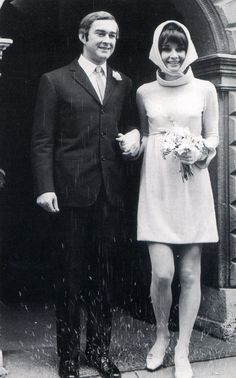 Audrey Hepburn And New Husband Dr Andrea Dotti On Their Wedding Day January 18
