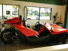Polaris Slingshot that came in for a handwax last week at Quick Car Wash in Leesburg, FL. Polaris Slingshot, Car Wash, Vehicles, Car, Vehicle, Tools