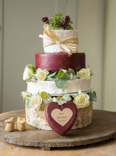 Cheese cake wedding cakes everybody will love. Celebration Exquisite Cake West Country Cheese West Country Cheese Wedding Cheese Cakes Celebration Cakes Made Cakes To Make, How To Make Cake, Alternative Wedding Cakes, Wedding Cake Alternatives, Antipasto, Cheese Board Wedding, Cheese Wedding Cakes, Cheese Tower, Cheesecake Wedding Cake