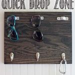 The Shabby Creek Cottage | Decorating | Craft Ideas | DIY: Make this: Quick Drop Zone
