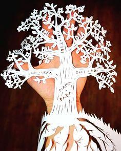 #familytree #paperartbyanni #papercutting #paperart