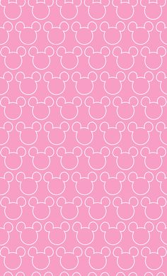 Imagem de fundo Minnie rosa, Papel digital Minne rosa, aniversário Minnie Rosa, Personalizados Minnie, Cabeça da Minnie