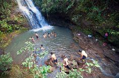 Waimano Falls and pools