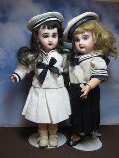 Juliette and her friend. 2 lovely Premiere Bleuette's