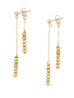 The Moonlight Gold Earrings