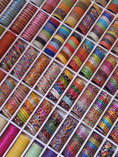 Ohhhh so many bangles:)