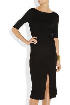 Vivienne Westwood Anglomania|Sihu draped jersey dress|NET-A-PORTER.COM