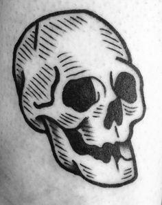 Gummy skull Dan Morris