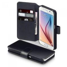 Läderplånbok till Galaxy S6. Hitta fler fodral via: http://www.phonelife.se/mobilfodral