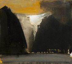 Fjordlandskap by Ørnulf Opdahl Contemporary Landscape, Contemporary Paintings, Landscape Art, Landscape Paintings, Art And Illustration, Lofoten, Art Auction, Deco, Art Inspo