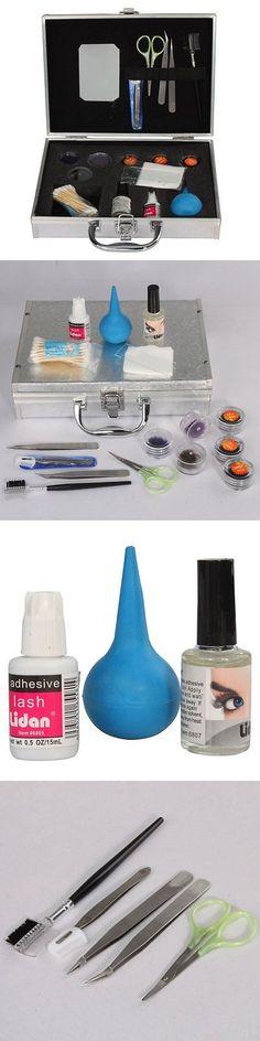 False Eyelashes and Adhesives: Mefeir Professional Eye Lash Extension False Eyelashes Full Kit Set With Hard BUY IT NOW ONLY: $32.71
