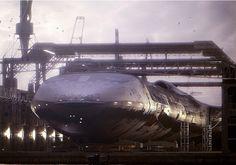 Le Nautilus est un vaisseau spatial militaire secret de forme delta arrondie qui fonctionne par impulsions magnétiques. Il opère à partir du nouveau siège non reconnue de l'US Space Command, basé profondement sousla plus hautemontagne des Wasatch Mountains - Utah.