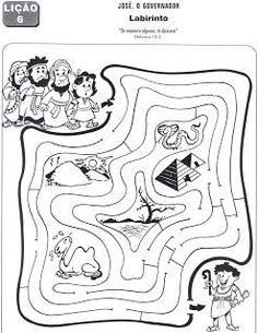 Joseph maze: