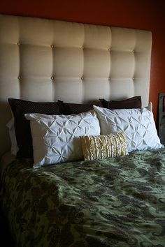 Fantastisch Make A Fantastic Upholstered Headboard With This Simple Tutorial: | Craft ~  Your ~ HomeCraft ~ Your ~ Home | I Like... | Pinterest | DIY Tutorial ...