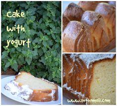 Ανθομέλι: Η μοσχομυριστή γιαουρτόπιτα της μαμάς Sweet Recipes, Banana Bread, Yogurt, Cooking Recipes, Desserts, Food, Cakes, Tailgate Desserts, Deserts