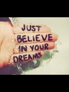 Believe in your dreams. We believe in you! Wishing you a ❤ Life Quotes Love, Great Quotes, Quotes To Live By, Me Quotes, Motivational Quotes, Inspirational Quotes, Famous Quotes, Daily Quotes, Stupid Quotes