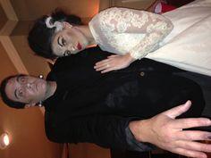 Daniel & I as The Frankenstein's! Happy Halloween 2012!