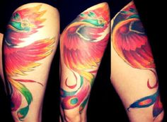 I've wanted a Pheonix tattoo for ever