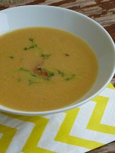 Kouzlo mého domova: Polévka z červené čočky s cizrnou