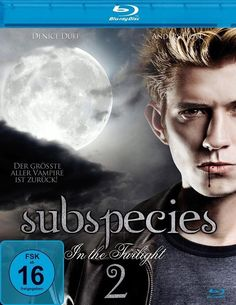 SUBSPECIES 2 - In The Twilight  Blu-ray