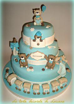 battesimo le torte decorate di luciana