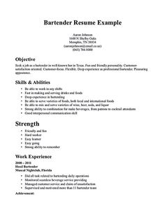 Best Bartender Resume Inspiration There Are Some Pictures Resume Skill Examples Samples What Sample .