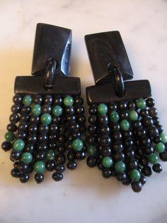 GERDA LYNGGAARD pour MONIES Monies Jewelry, Jewelery, Unique Earrings, Dangle Earrings, Jewelry Art, Fashion Jewelry, Statement Jewelry, Jewelry Making, Ebay