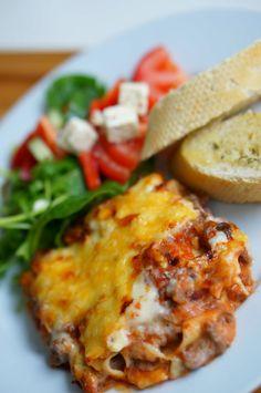 Food N, Food And Drink, Spaghetti, Pasta, Baking, Ethnic Recipes, Den, Italy, Lasagna