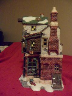 "DEPT 56 DIckens village ""CRATCHIT'S CORNER Dept 56 Dickens Village, Department 56, Christmas Villages, Villas, Gingerbread, Corner, Collections, Houses, Xmas"
